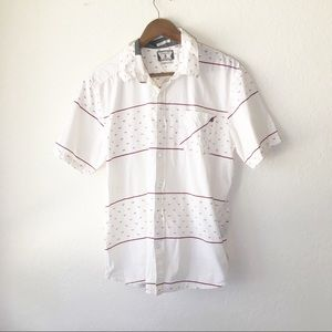 🌿 Volcom Button Down Shirt Exclusive S Skater